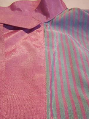 水色とピンク