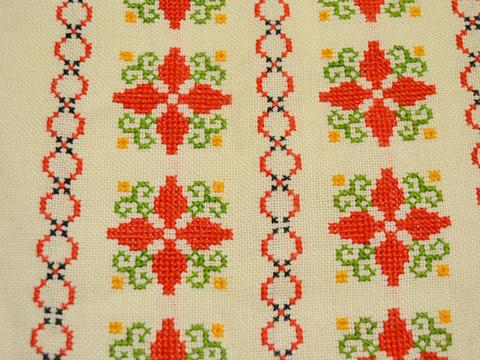 クロスステッチ刺繍