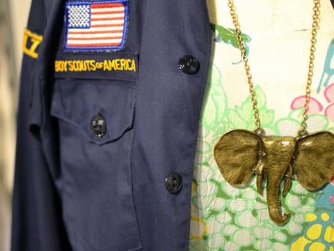ゾウのネックレス