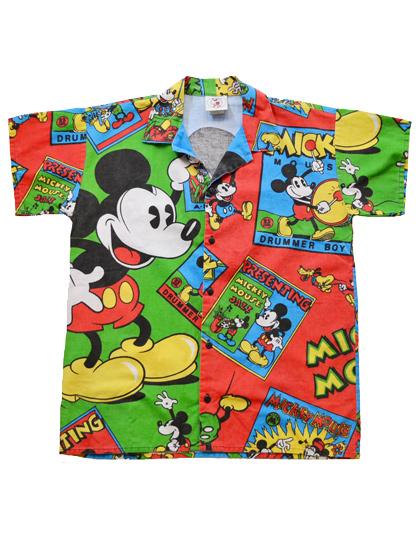 ミッキーシャツ
