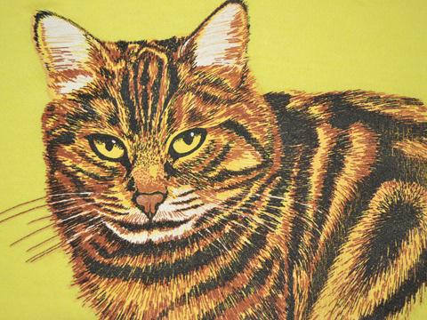 猫スウェット
