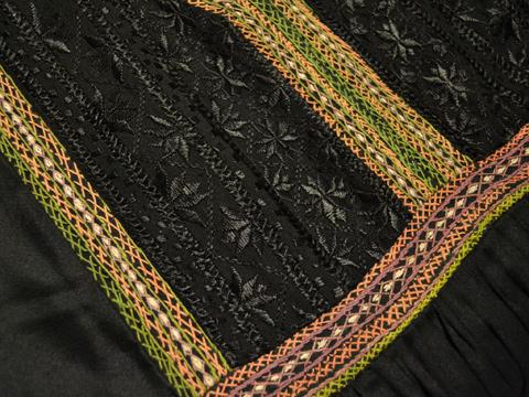 黒アフガンワンピ