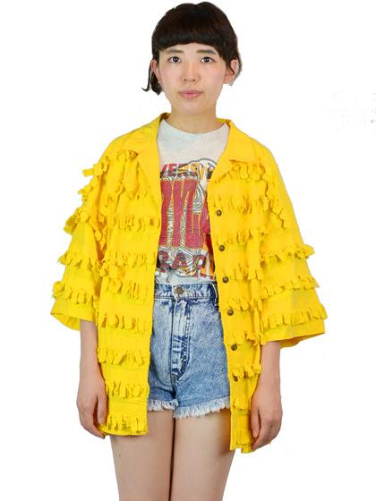 フリンジシャツ