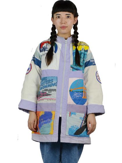 パッチワークジャケット