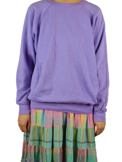紫スウェット