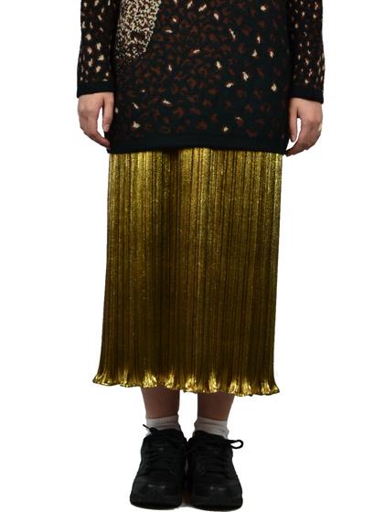 ゴールドスカート
