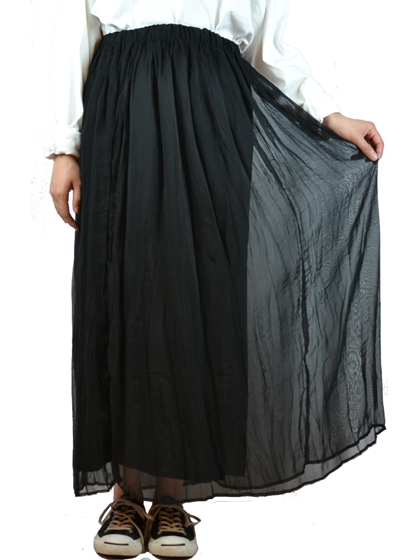 チュールスカート