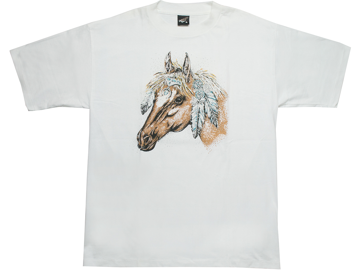 馬プリント