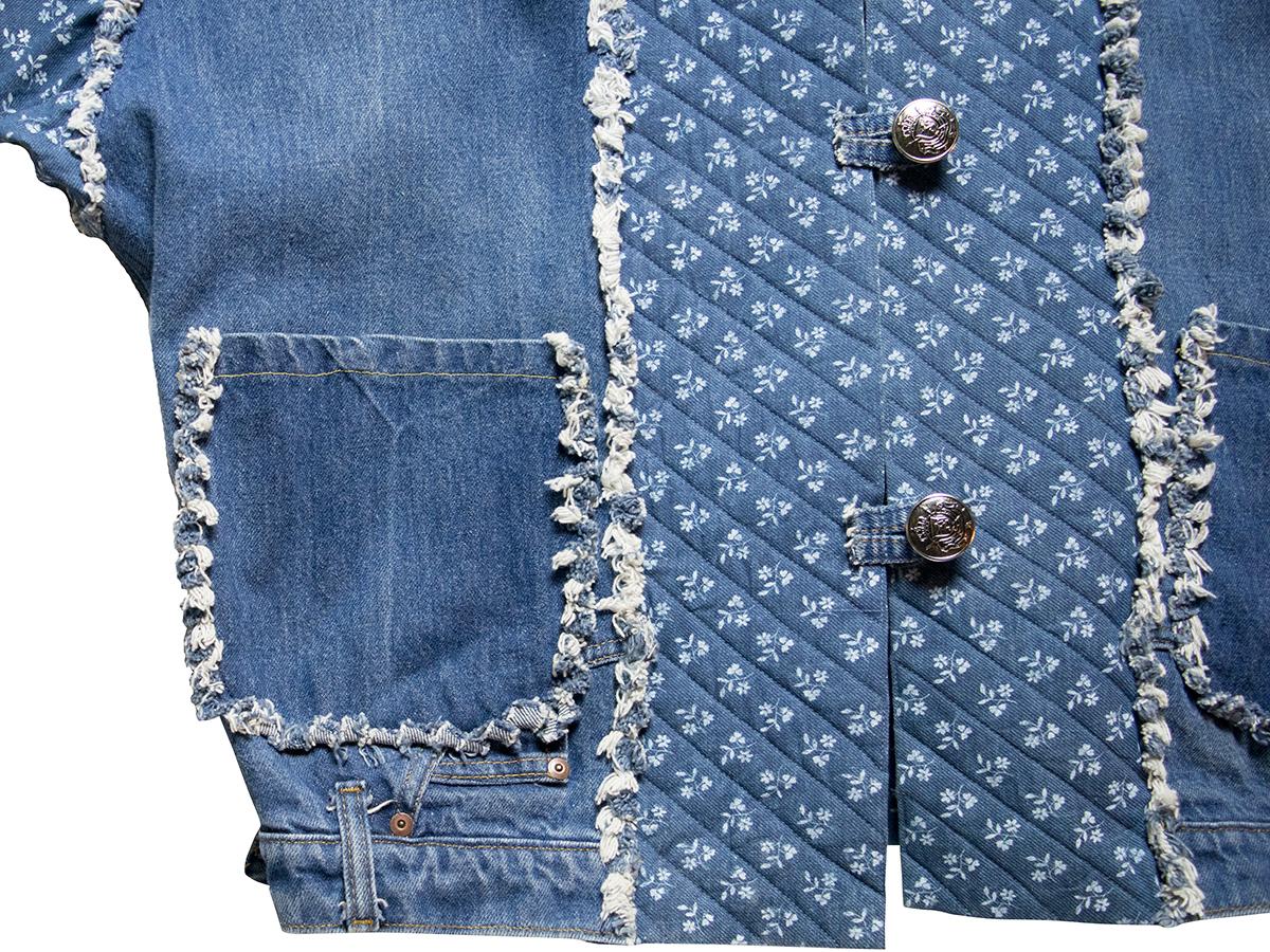 デニムデザインジャケット