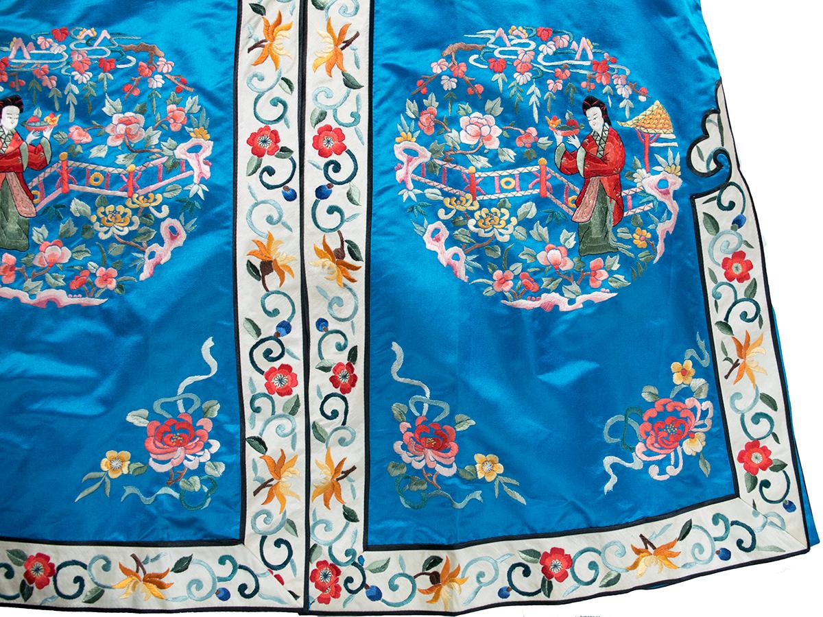 チャイナ刺繍