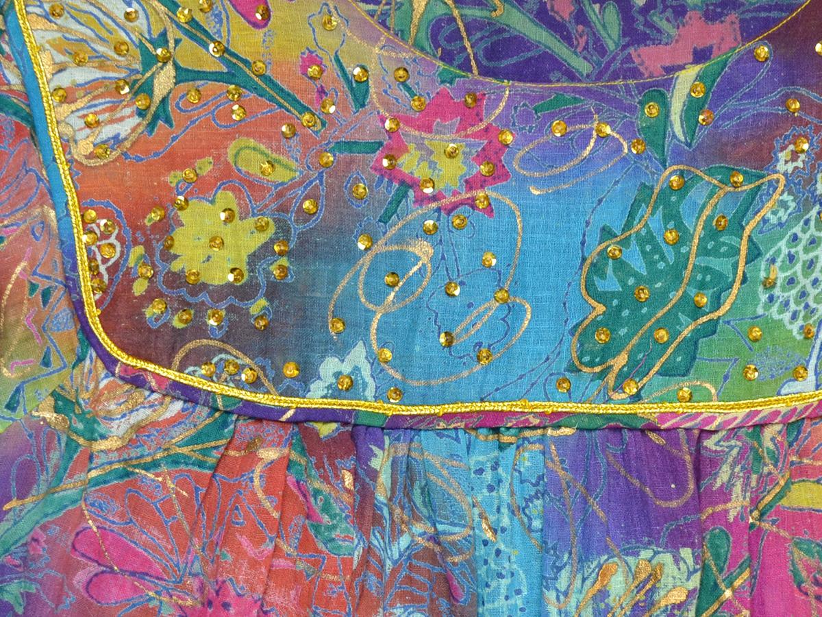スパンコール刺繍