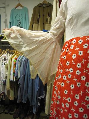 70年代の切替ドレス3